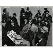 1938 Press Photo German Washington, D.C. Police - RRW00967