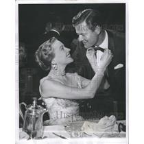 1954 Press Photo Robert Sterling American Film TV Actor - RRW28681