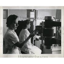 1955 Press Photo Kiostermann Million Dollar Health Ray - RRW65877