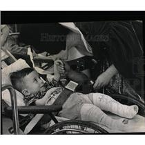 1967 Press Photo Snow White Shriners' Hospital Crippled - RRW63727