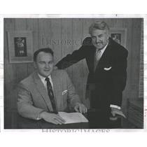 1956 Press Photo Irving Krick Meteorological Service - RRX96795