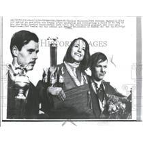 1966 Press Photo Susanna Raganelli World Go Cart Champ