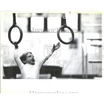 1985 Press Photo David Roth Pat Korth Toddle Humanistic