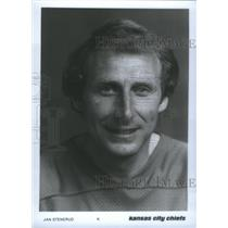 Press Photo Jan Stenerud Former Professional Football Player Kansas City Chiefs