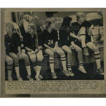 1975 Press Photo First Male To Compete On A Girls Team - RRW64877