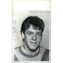 1985 Press Photo Dan Lambert Cranbrook Hockey Team - RRX40339