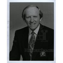 1990 Press Photo Will McDonough NBC Sports caster NFL - RRW13057