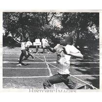 1968 Press Photo Reach Out Olympics Day Jackson Park - RRW54801