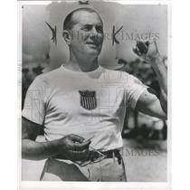 1954 Press Photo John B. Kelly, American Sculler. - RRW36897