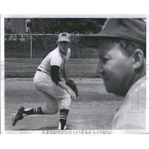 1968 Press Photo North Carolina baseball player Greg Mathey - RSC28699