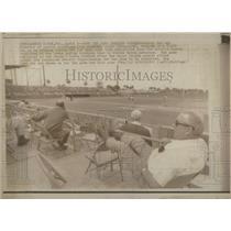 1972 Press Photo Boston Red Sox director public relations Bill Crowley farm team