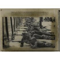 1969 Press Photo South Vietnam Training