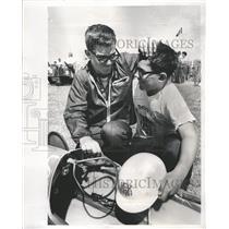 1966 Press Photo Gary Woodside Soap Box Race Winner - RRW27957