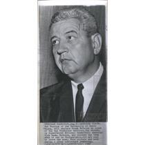 1962 Press Photo Bob Feerick University Santa Clara Coach - RSC26087