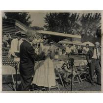 1959 Press Photo Pan American Games Tennis Chairman - RRW52129
