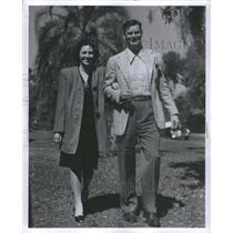 1946 Press Photo Bill Hitchcock Professional American Football Seattle Seahawks