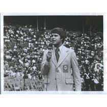 1976 Press Photo Jim Lampley ABC sportscaster - RSC09133