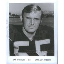 1975 Press Photo Dan Conners Oakland Raiders - RSC26079