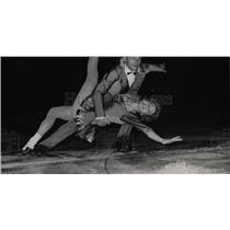1964 Press Photo JeanPaul & Christiane Guhel Ice Dancer - RRW77431