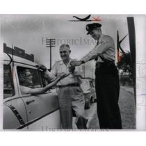 1962 Press Photo Auto Drivers