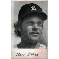 1979 Press Photo Steve Baker Detroit Tigers - RRX40077