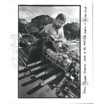 1986 Press Photo Southland Regatta Boat Races Florida