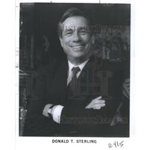 1990 Press Photo Donald Sterling Los Angeles Clippers - RSC29423