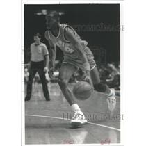 Press Photo Ronald Ron Harper Cleveland Cavaliers Los Angeles Clippers guard