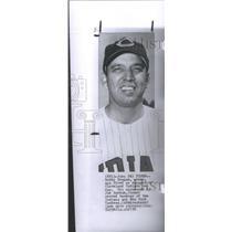 1958 Press Photo Bobby Bragan Cleveland Indians - RSC27577