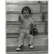 1959 Press Photo Karen Engelken Young American Athlete - RRW24655