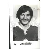 1973 Press Photo David Edward Fortier Retire Professional Ice Hockey Player