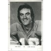 1976 Press Photo Don Strock Former Professional Football Player Cleveland Brown