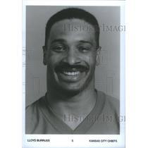 PRESS PHOTO LLOYD BURRUSS AMERICAN FOOTBALLER KANSAS CITY - RSC25873