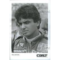 Press Photo Raul Boesel Brazil racing driver March Ligier Formula team Champ Car