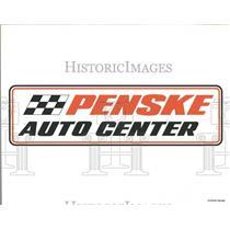 Press Photo Penske Auto Center Sign