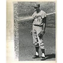 1963 Press Photo Ken McMullen, 3rd baseman - RRW39213