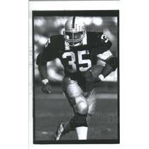 1989 Press Photo Steve Smith, Raiders, #35 - RSC28361