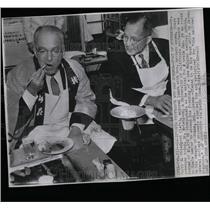 1961 Press Photo Tokyo Governor Ryotaro Azuma - RRW07165
