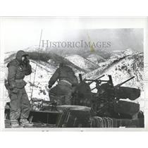 1958 Press Photo South Korea Military Training Exercise - RRX80939