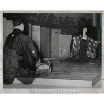 1959 Press Photo Kabuki Japan International Theater - RRW57197