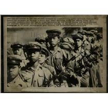 1976 Press Photo Communist Pathet Lao Soldiers - RRX75715