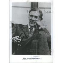 1980 Press Photo John Kenneth Ken Galbraith Economist Keynesian liberalism OC