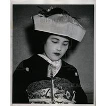 1948 Press Photo A Shinto Wedding - RRX70427