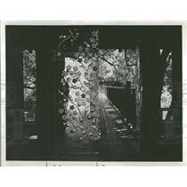 1976 Press Photo The Golden Door Japanese Inn design