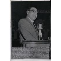 1958 Press Photo Cuba President Fulgencio Batista - RRX74951
