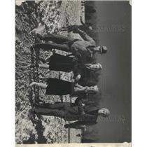 1940 Press Photo George Cranmer Park Denver Skaters - RRX95075