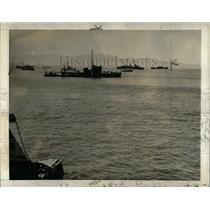 1942 Press Photo Mexican Navy Checking Coast Boats - RRX62713