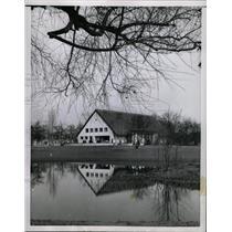 1953 Press Photo Britain Tea House In Berlin - RRX70539