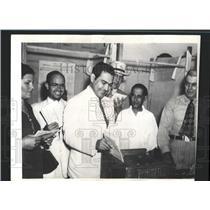 1940 Press Photo Cuban Colonel Fulgencio Batista Voting - RRX84553