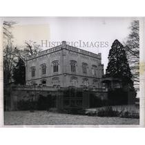 1955 Press Photo Villa Rentzen Russian Embassy Germany